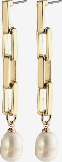 Pilgrim Boucles d'oreilles 'Colomba' en or / blanc perle, Vue avec produit