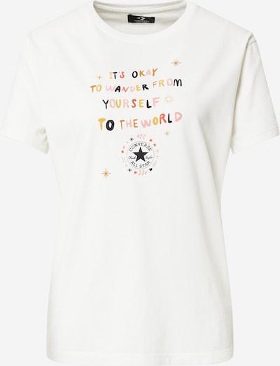 CONVERSE Camiseta 'CHUCK WANDER' en beige claro / mezcla de colores, Vista del producto