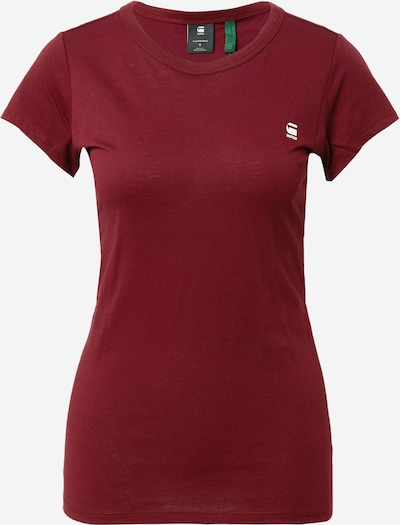 G-Star RAW Shirt 'Eyben' in Rusty red / White, Item view