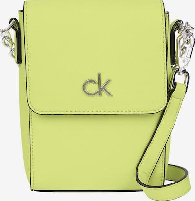 Calvin Klein Pleca soma, krāsa - citrondzeltens / melns, Preces skats