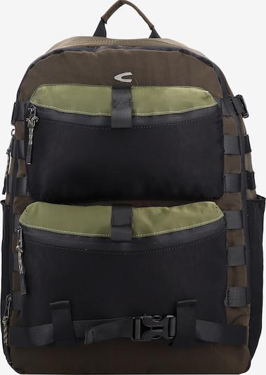CAMEL ACTIVE Rucksack in dunkelgrau / dunkelgrün, Produktansicht