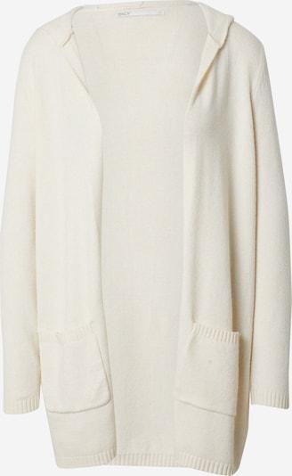 Only (Petite) Gebreid vest 'LESLY' in de kleur Wolwit, Productweergave