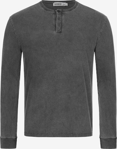 Ordinary Truffle Langarmshirt 'NECIP' in anthrazit, Produktansicht