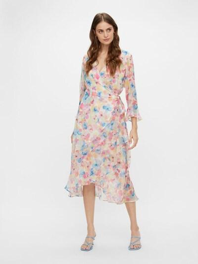 Y.A.S Kleid in blau / pink / weiß, Modelansicht