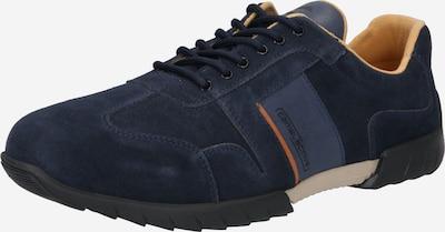 CAMEL ACTIVE Chaussure de sport à lacets en bleu marine / orange, Vue avec produit