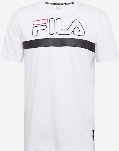 FILA Functioneel shirt 'LAURENTIN' in de kleur Wit, Productweergave