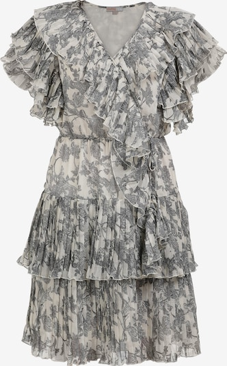 myMo NOW Poletna obleka | siva / bela barva, Prikaz izdelka
