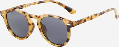 Ochelari de soare River Island pe castaniu / galben muștar, Vizualizare produs