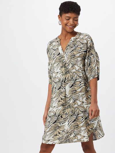 Kaffe Damen - Blusen & Tuniken 'KAlifa Amber Tunic' in sand, Modelansicht