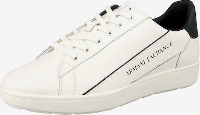 ARMANI EXCHANGE Sneakers Low in weiß, Produktansicht