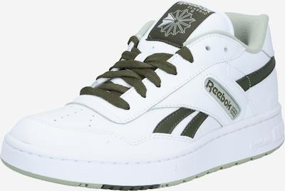Reebok Classic Baskets basses en vert gazon / blanc, Vue avec produit