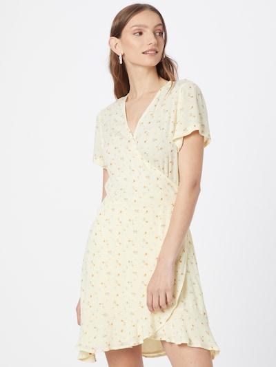 Neo Noir Kleid 'Malta' in gelb / senf, Modelansicht
