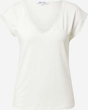 ABOUT YOU Shirt 'Therese' in White