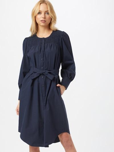 NÜMPH Kleid 'Summer' in dunkelblau, Modelansicht