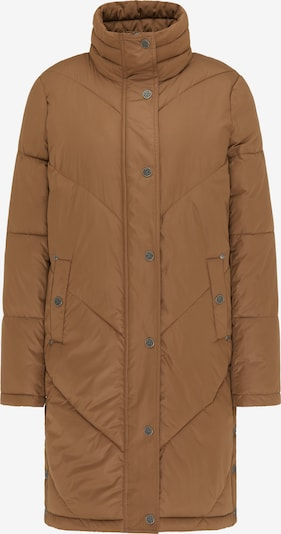 DreiMaster Vintage Manteau d'hiver en caramel: Vue de face