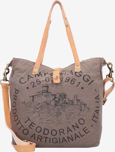 Campomaggi Shopper in braun / schwarz, Produktansicht
