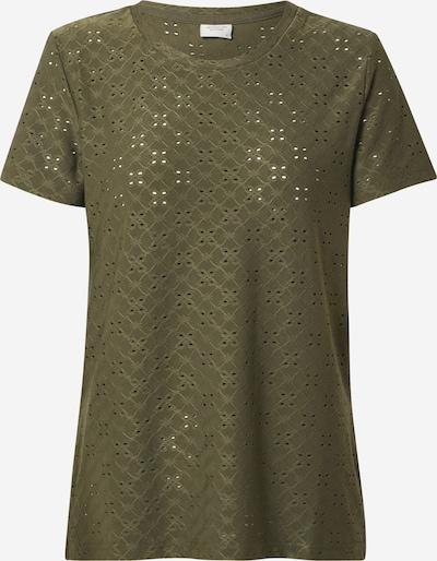 JACQUELINE de YONG Shirt 'Cathinka' in dunkelgrün, Produktansicht