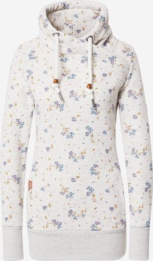 Ragwear Sweatshirt 'NESKA' in mischfarben / weiß, Produktansicht