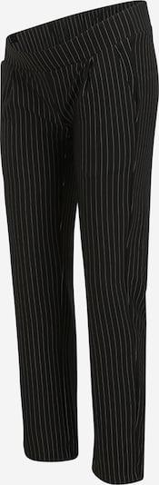 MAMALICIOUS Pantalón plisado 'MINNA' en negro / blanco, Vista del producto