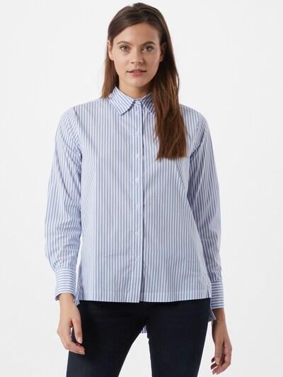 Bluză 'Feorgia' OPUS pe albastru fum / alb, Vizualizare model
