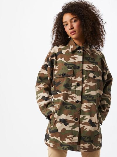 Bluză 'Nasim' DRYKORN pe kaki / mai multe culori, Vizualizare model