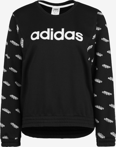 ADIDAS PERFORMANCE Sweatshirt 'Favorites' in schwarz / weiß, Produktansicht