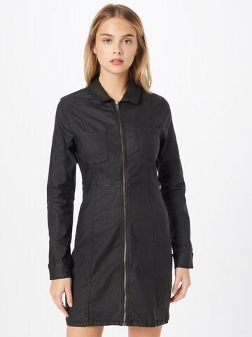 Rochie tip bluză 'LISA' de la Noisy may pe negru