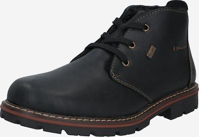 RIEKER Chukka Boots en noir: Vue de face