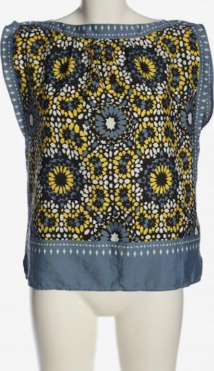 CAMPUS Oversized Bluse in S in blau / pastellgelb / weiß, Produktansicht