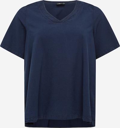 Zizzi Shirt 'JEASY' in de kleur Marine, Productweergave