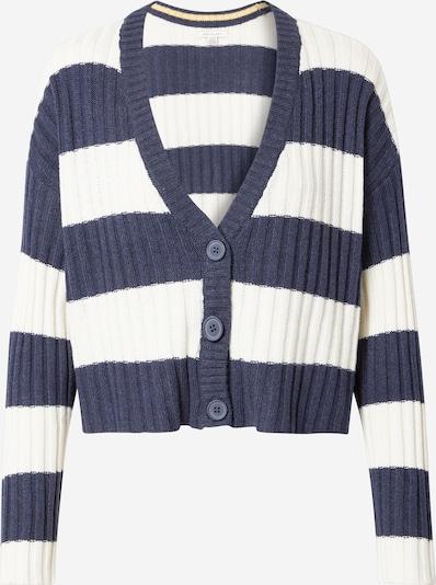 American Eagle Adīta jaka, krāsa - tumši zils / balts, Preces skats
