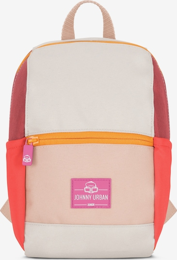 Johnny Urban Plecak 'Leo' w kolorze beżowy / homarowy / czerwony / białym, Podgląd produktu
