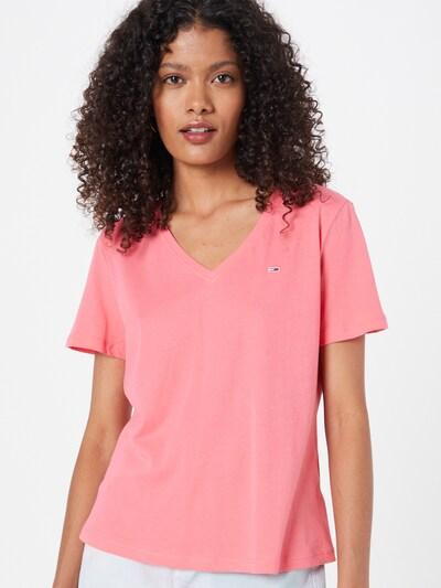 rózsaszín Tommy Jeans Póló: Elölnézet