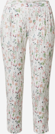 Esprit Bodywear Pajama pants 'ARMATHA' in Mixed colours / Off white, Item view