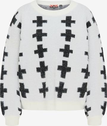 myMo ROCKS Sweater in White
