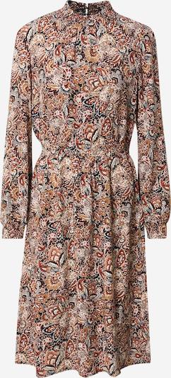 ONLY Kleid 'NOVA' in blau / gelb / dunkelrot / schwarz / offwhite: Frontalansicht