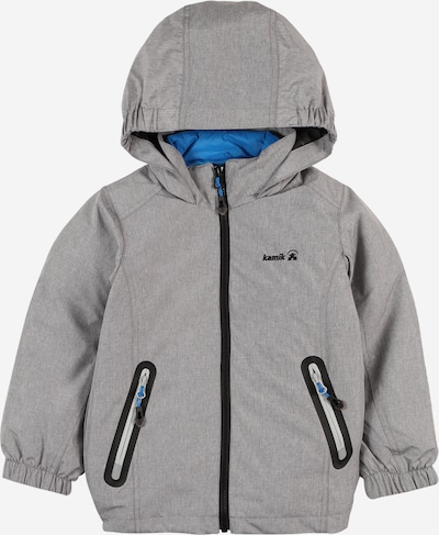 Kamik Funkční bunda 'Gordon' - modrá / šedý melír, Produkt