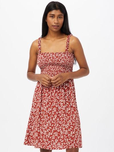 LTB Kleid 'NIYESI' in pastellrot / weiß, Modelansicht