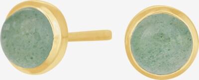 Nordahl Jewellery Boucles d'oreilles 'Sweets52' en or / vert, Vue avec produit