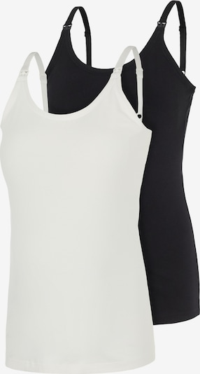 MAMALICIOUS Top in Black / White, Item view