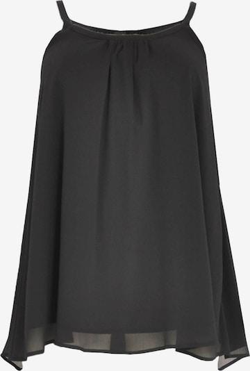 Yoek Top ' Voile ' in schwarz, Produktansicht