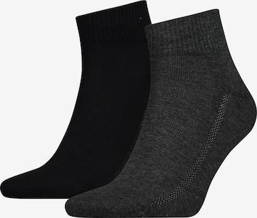 LEVI'S Athletic Socks in Grey