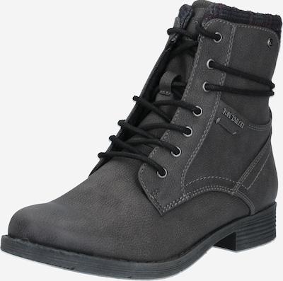 TOM TAILOR Snørestøvletter i grå, Produktvisning