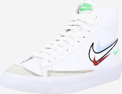 Nike Sportswear Sneaker in hellblau / grün / rot / schwarz / weiß, Produktansicht