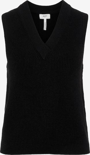 OBJECT Cardigan 'Malena' en noir, Vue avec produit