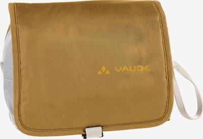 VAUDE Kulturtasche in Brown / Yellow / White, Item view