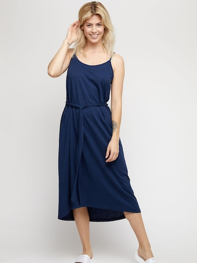 mazine Dress ' Pinetta ' in navy, Modelansicht
