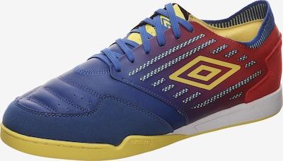 UMBRO Fußballschuh in blau / gelb / blutrot, Produktansicht