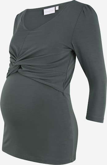 MAMALICIOUS Shirt 'Macy' in de kleur Donkergroen, Productweergave