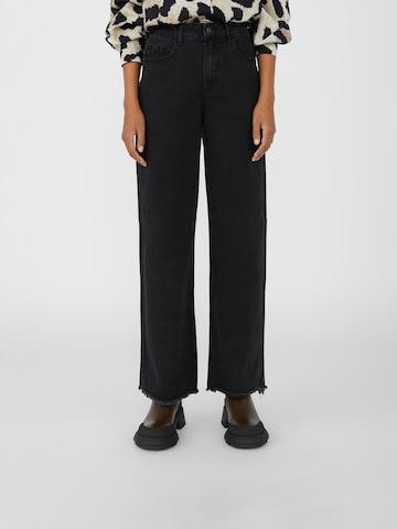 Jeans 'Savannah' di OBJECT in nero